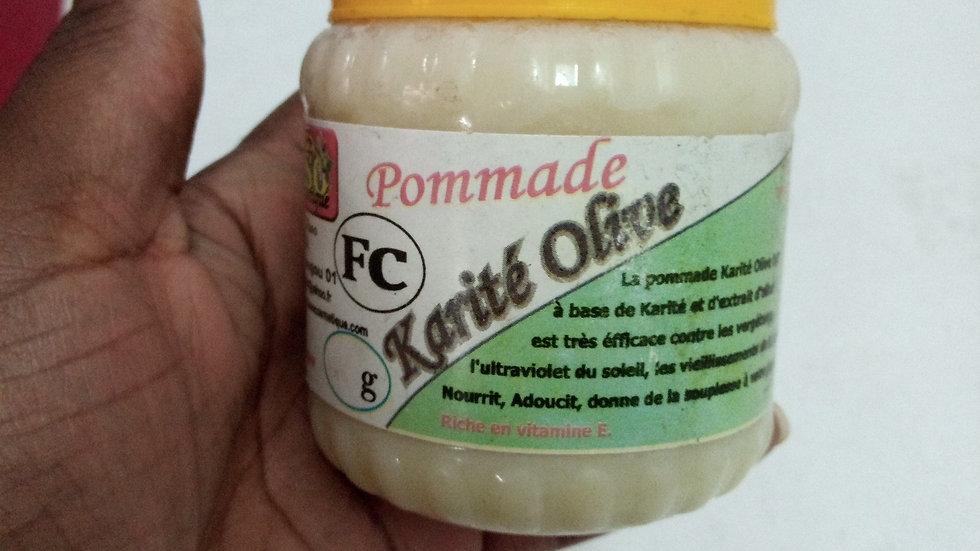 La pommade karité/ olive