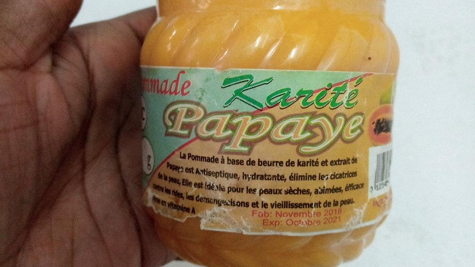 Pommade de karité/ papaye
