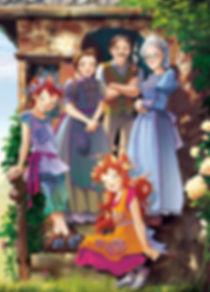 Fairy Oak , Periwinkle,Vaniglia, Pervinca, Heather, Lavender, Elisabetta Gnone, Bombus