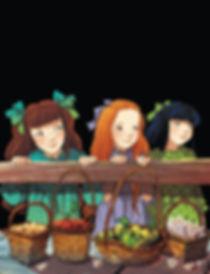 Fairy Oak, Nepeta, Rose, Cecilia, Melissa, Buttercup,  Elisabetta Gnone, Bombus