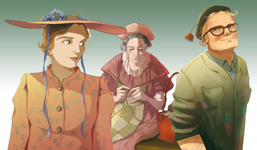 Fairy Oak, Pollimon, Rosie, Bernie, Hortensia, Elisabetta Gnone, Bombus