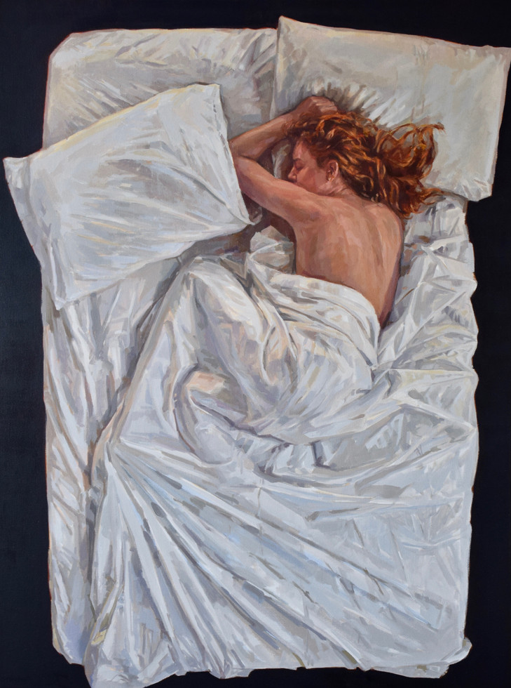 'Sleep Series VIII' (featured in recent ROI Exhibition)