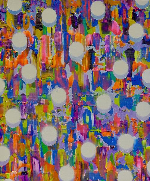 Colin McCallum   'Atomised Blue Orange'