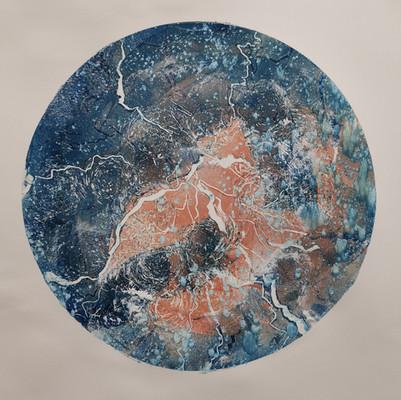'BLUE ORANGE PLANET'