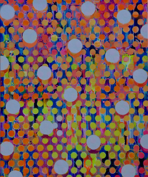 Colin McCallum   'Atomised Yellow Orange'