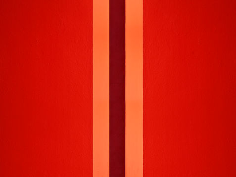 TheSpaceBetween, photograph by Daniel Holfeld, bright red, featuring in NoonPowell Summer Show 2020