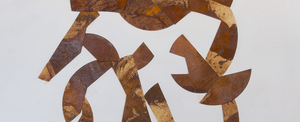 'Rust Collage #3'