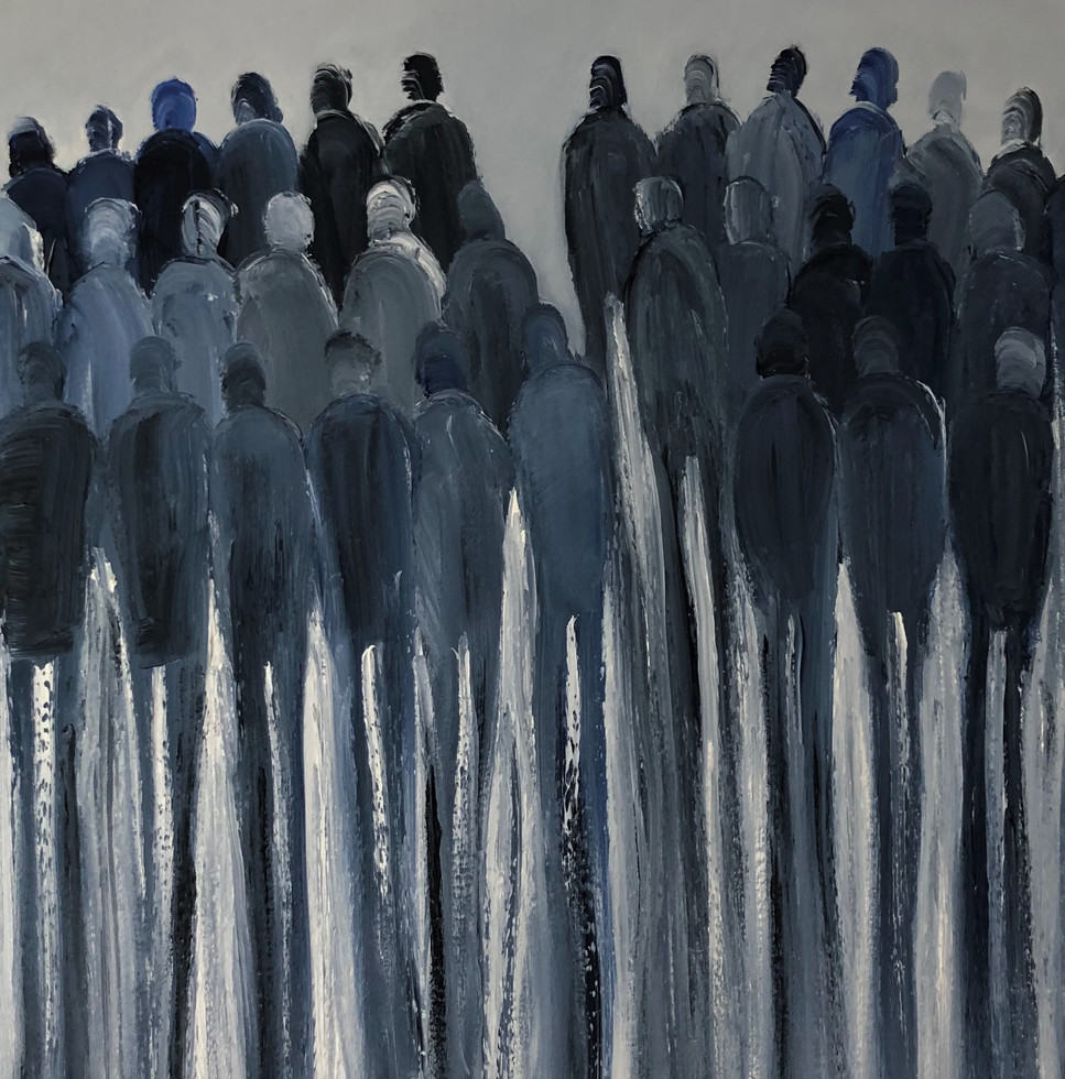'Divided Crowd'