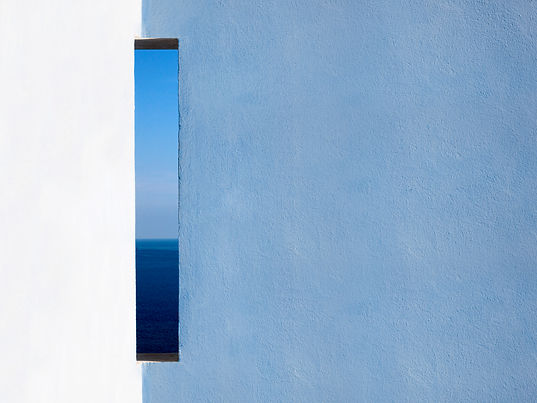 Seaview photograph by Daniel Holfeld, featuring in NoonPowell Summer Show 2020