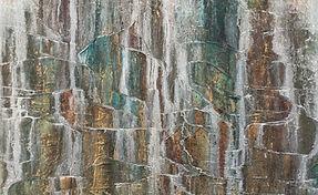 The Golden Waterfalls II - 1 x 1m .jpg