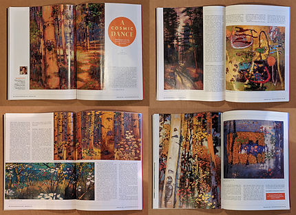 South West Art magazine -Spread : Rick S