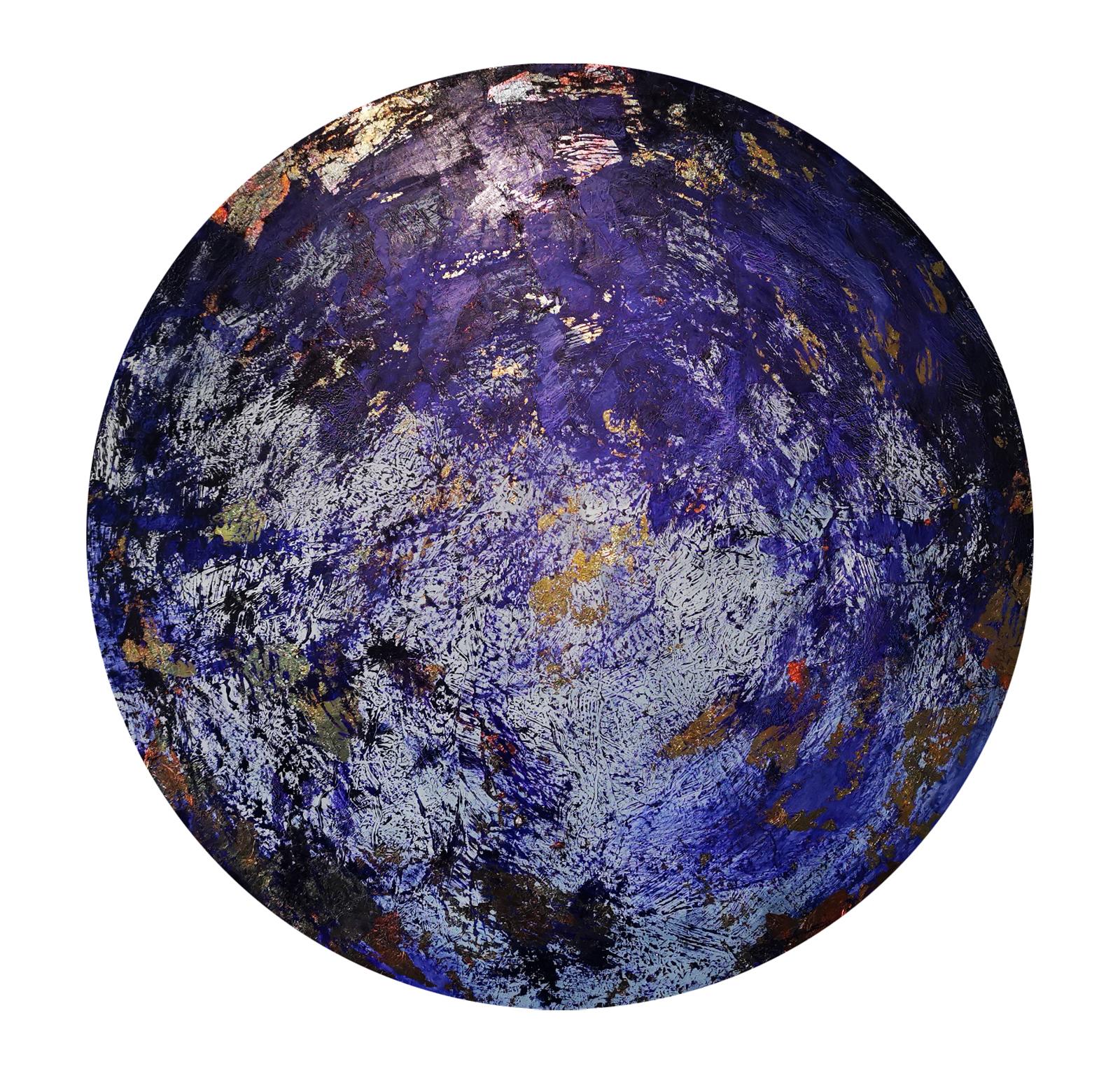 Pluto_90cm_x_90cm_oil_and_copper_foils_o