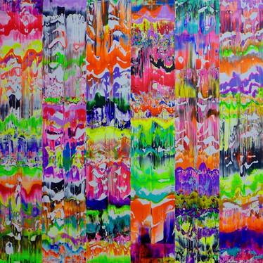 'Flux Purple Lime Fuschia'