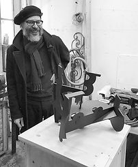 Great to meet sculptor Andrew Revell in
