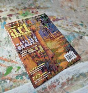 South West Art magazine -Cover : Rick St