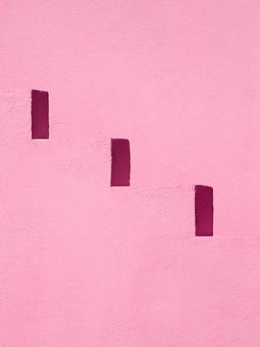 PinkSteps by Daniel Holfeld - photograph with pink steps featuring in Summer Show 2020