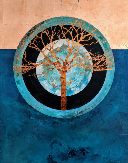 'Circle of Life / with Copper Tree'