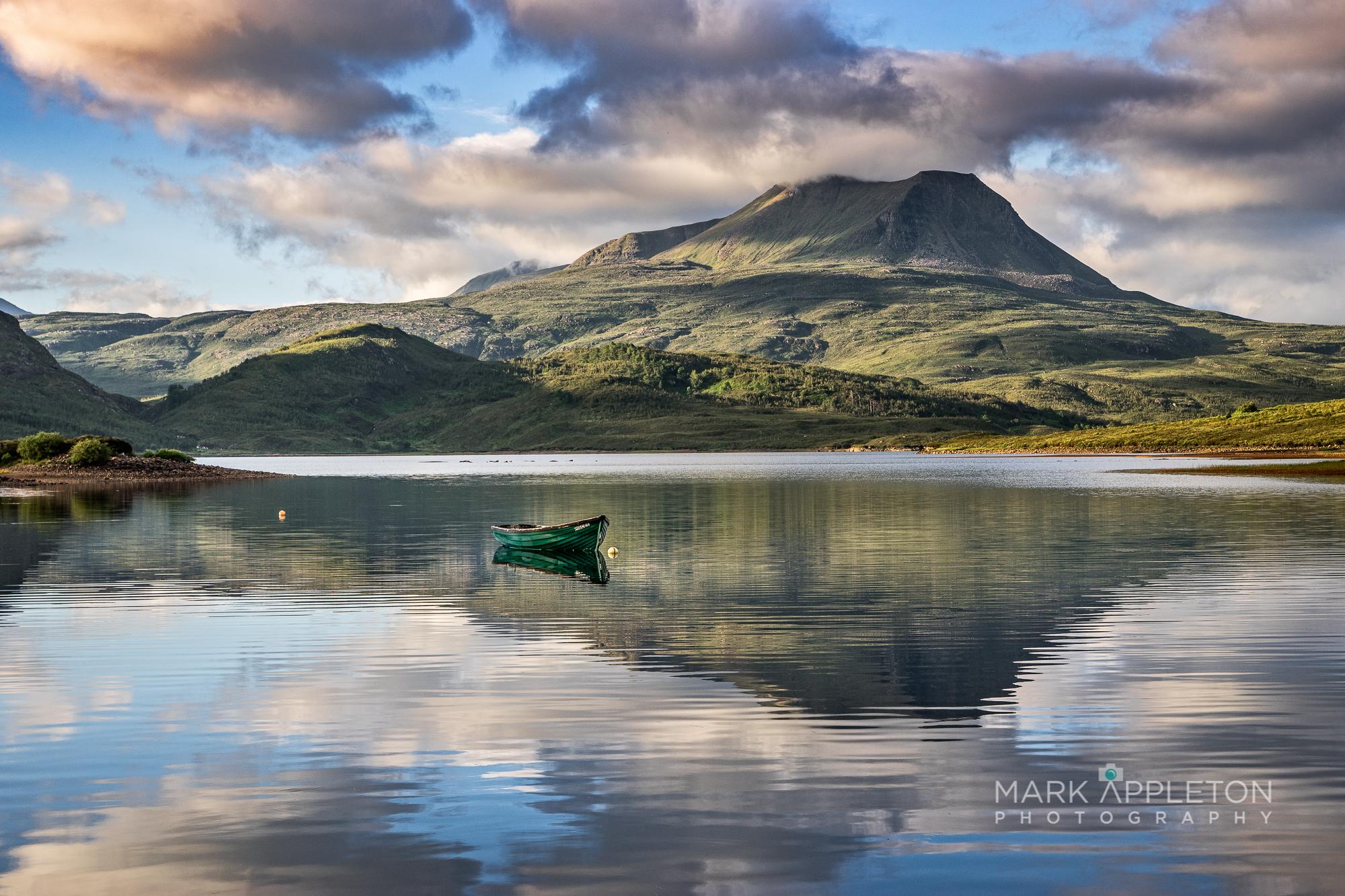 Baosbheinn, Loch Bad an Sgalaig
