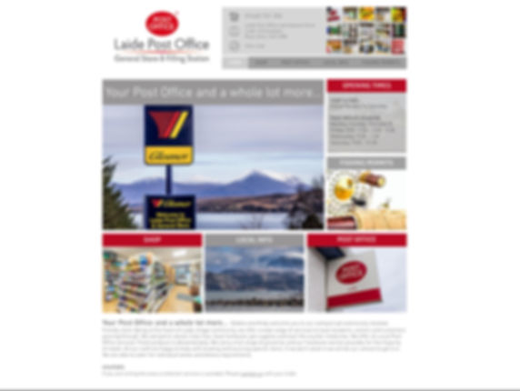 Laide Post Office website