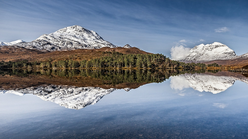 Liathach on a glorious winter's day