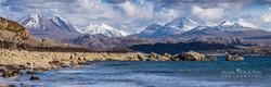 Torridon mountains from Big Sand