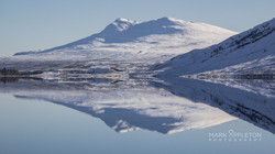 Meagan nan Uan reflecting on Loch a