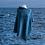 Thumbnail: Seashore Merino Textured Women's Poncho - Sea Blue