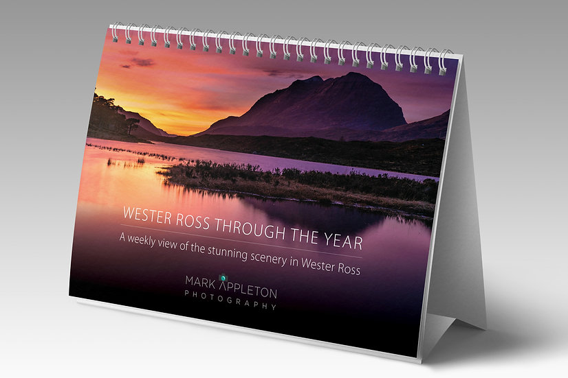 Wester Ross Through the Year Forever Calendar