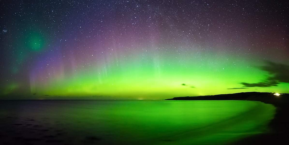 Aurora Borealis over the Minch