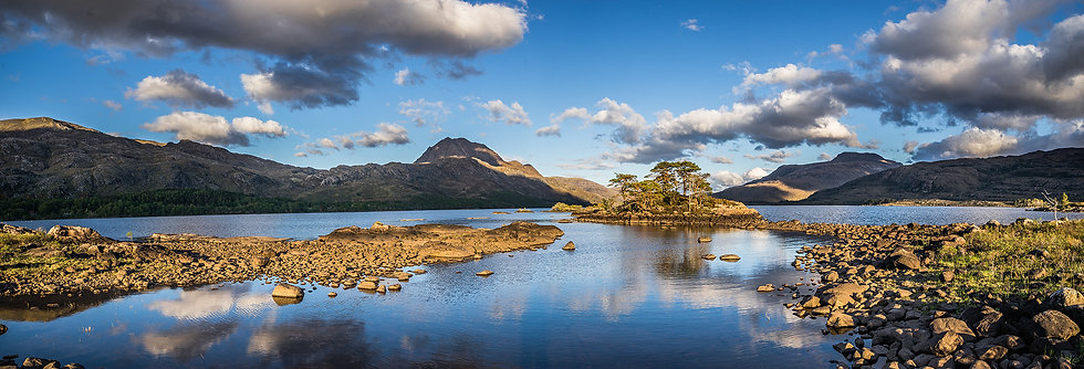 Loch Maree catching the evening light