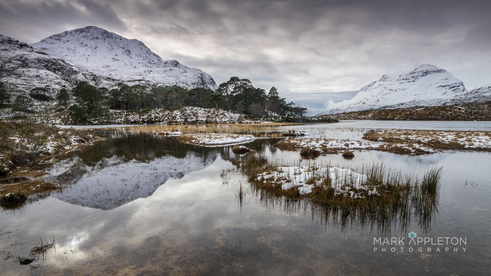 Loch Clair, Sgurr Dubh, Liathach