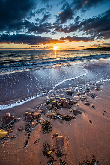 Sunset over Opinan, Wester Ross