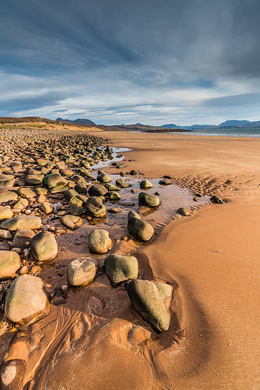 Low tide on Red Point Beach, Wester Ross.