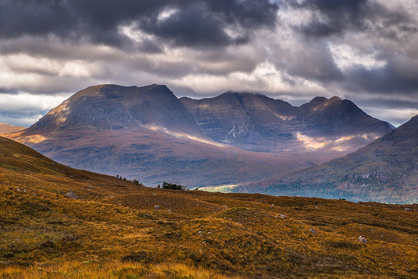 Autumnal Beinn Alligin (The Jewel), Torridon