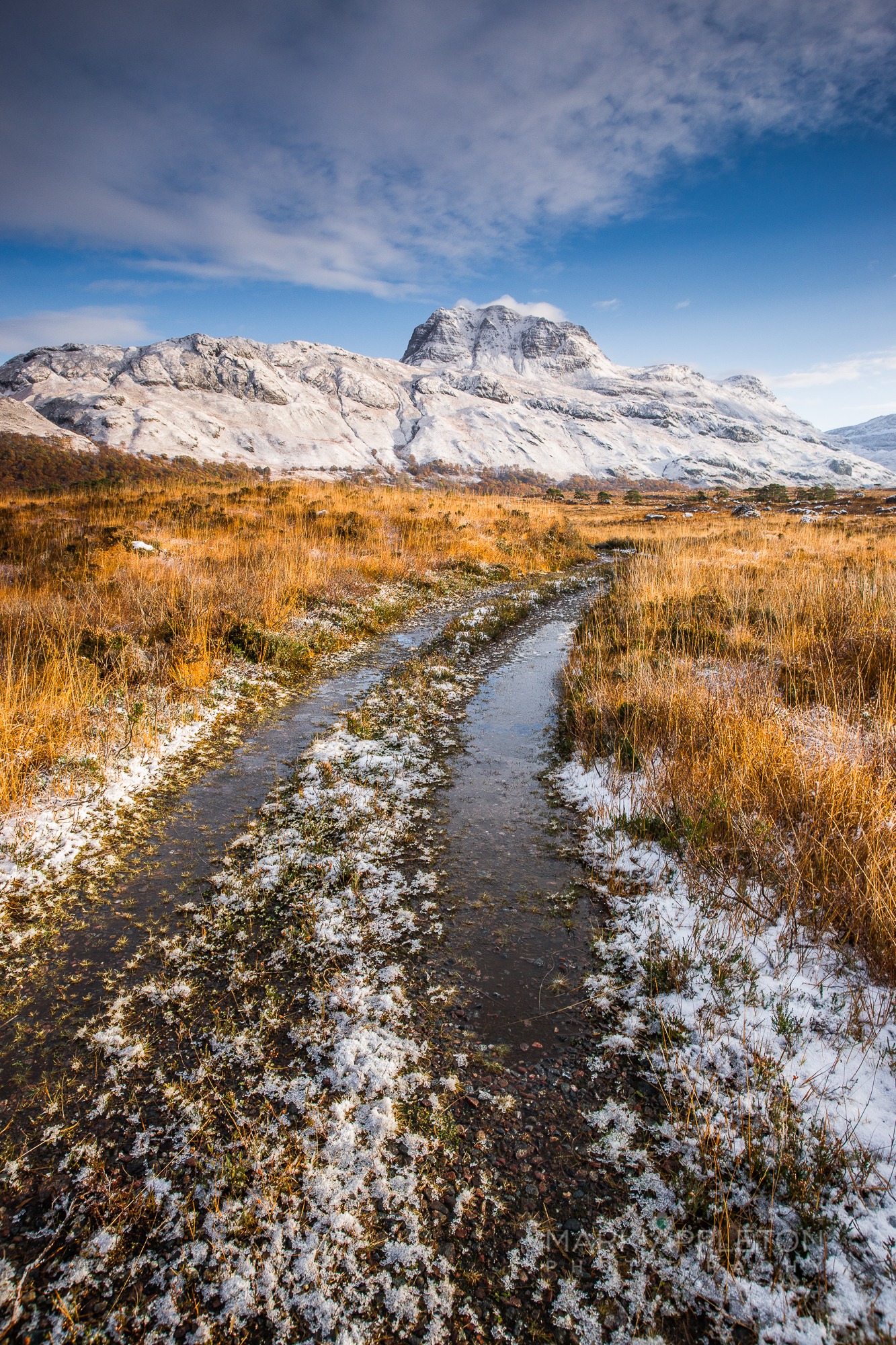 Road to Slioch