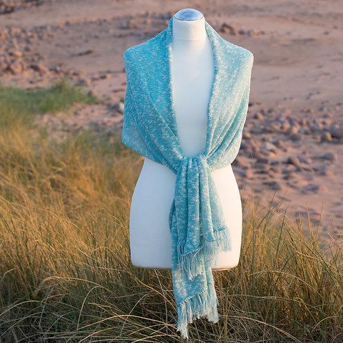 Textured Seashore Shawl