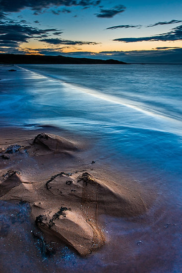 Stunning colours after the sunset on Red Point Beach.