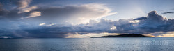 Storm clouds over Skye