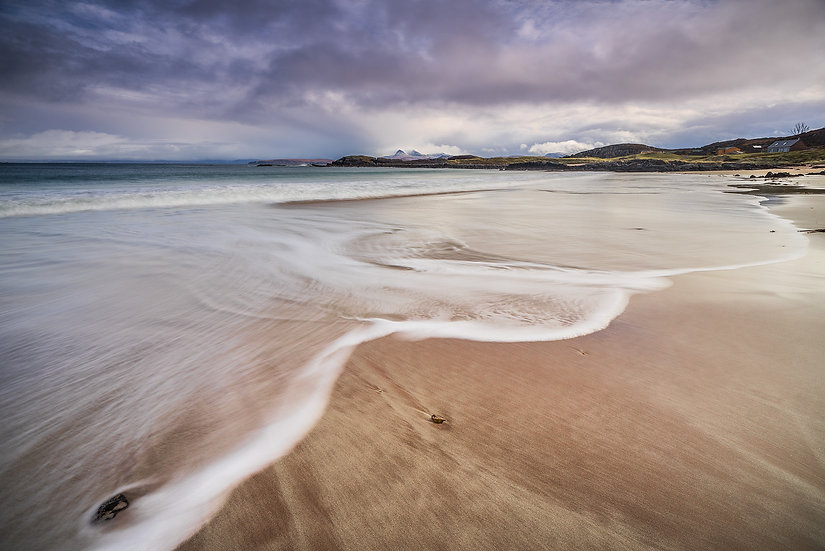 Tide coming in at Mellon Udrigle