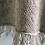 Thumbnail: Seashore Merino Textured Women's Poncho - Mist Grey