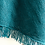 Thumbnail: Seashore Merino Textured Women's Poncho - Teal