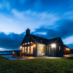 Luxury self catering cottage Uist
