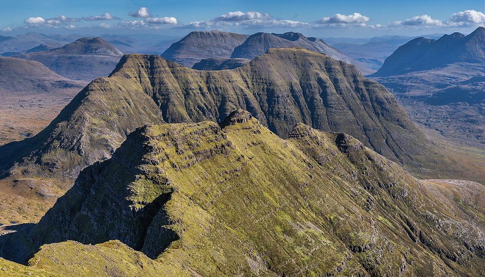 The ridge of the Horns of Alligin