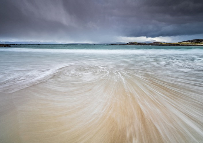 Tide coming in at Mellon Udrigle.