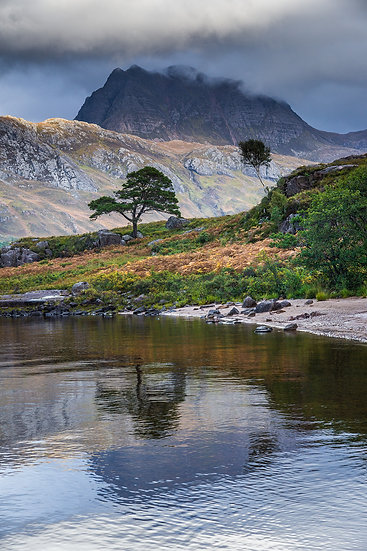 Slioch in it's Autumn colours