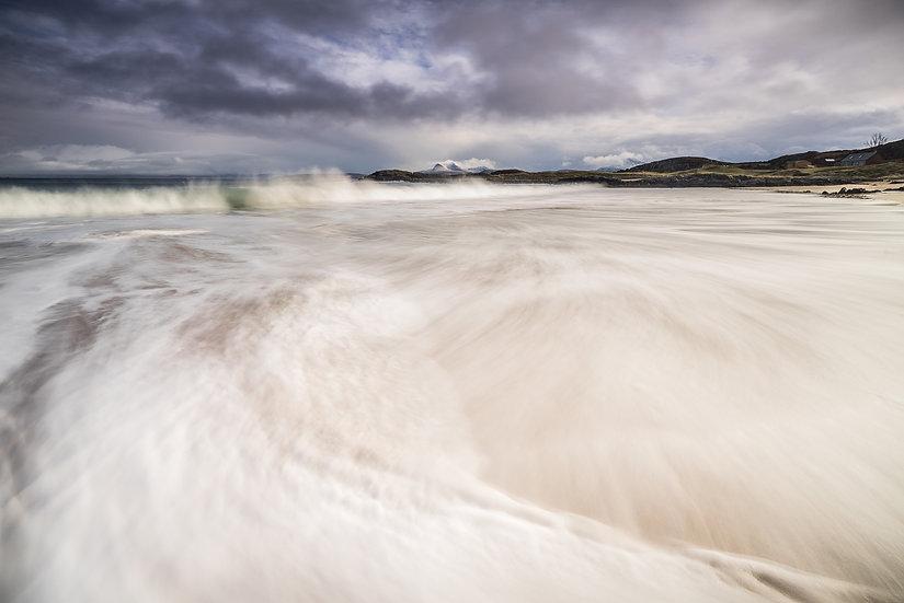 Stormy sea... Mellon Udrigle