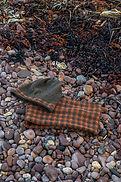 Torridon lambswool beanie and cowl, accessories, knitted by Elizabeth Larsen Knitwear, Scotland.
