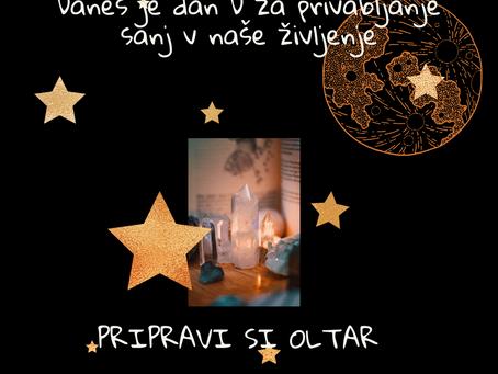 Uresničevanje želja z močjo mlade lune - 7 korakov do sanj (3.del)