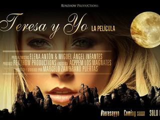 """Xpei Drone en el rodaje de """"TERESA Y YO"""""""