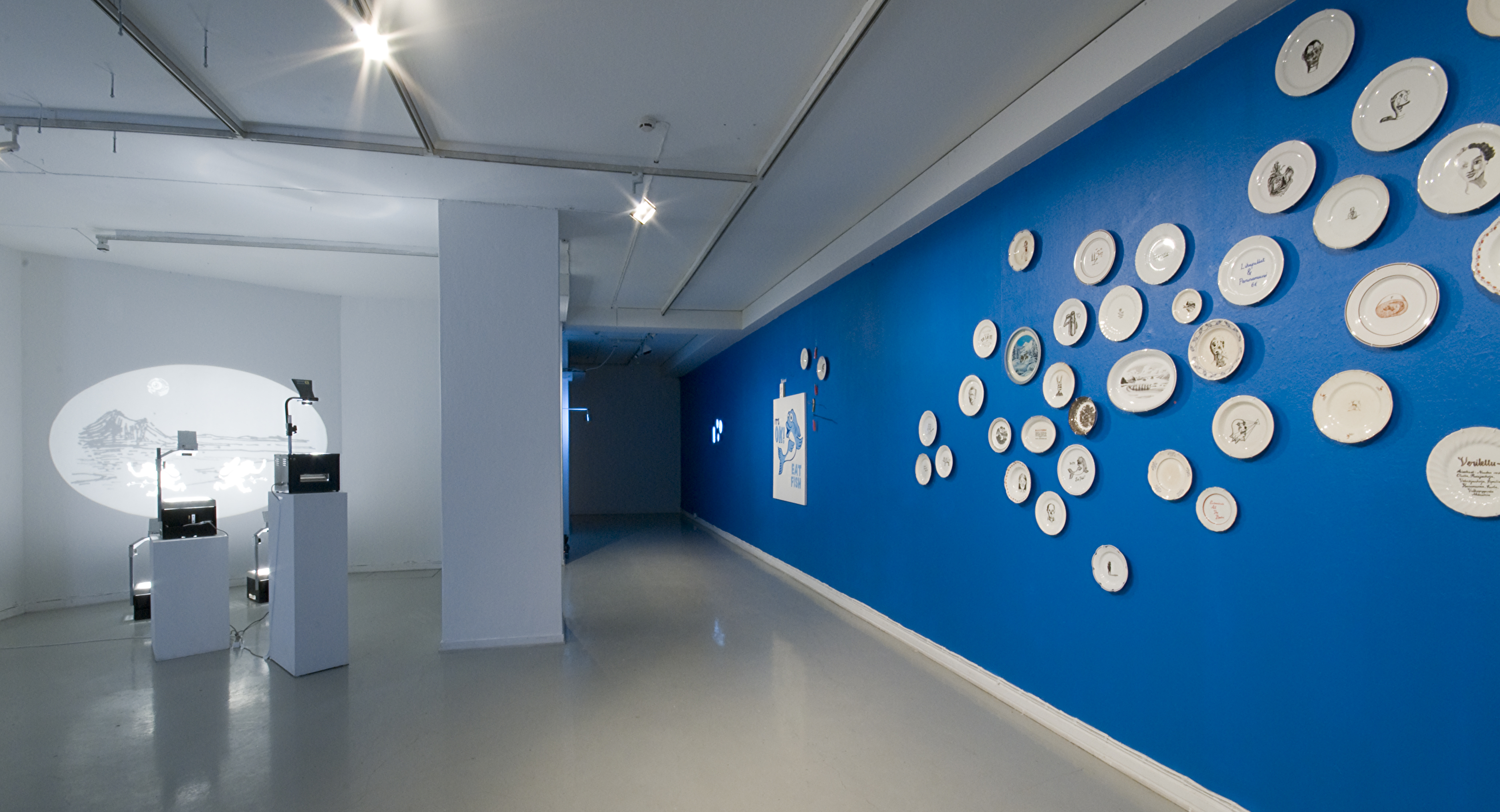 The Sparrow's Nest (installation view)